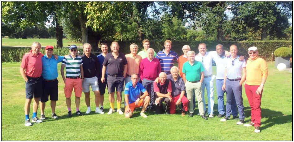 golfdag 2018 deelnemers